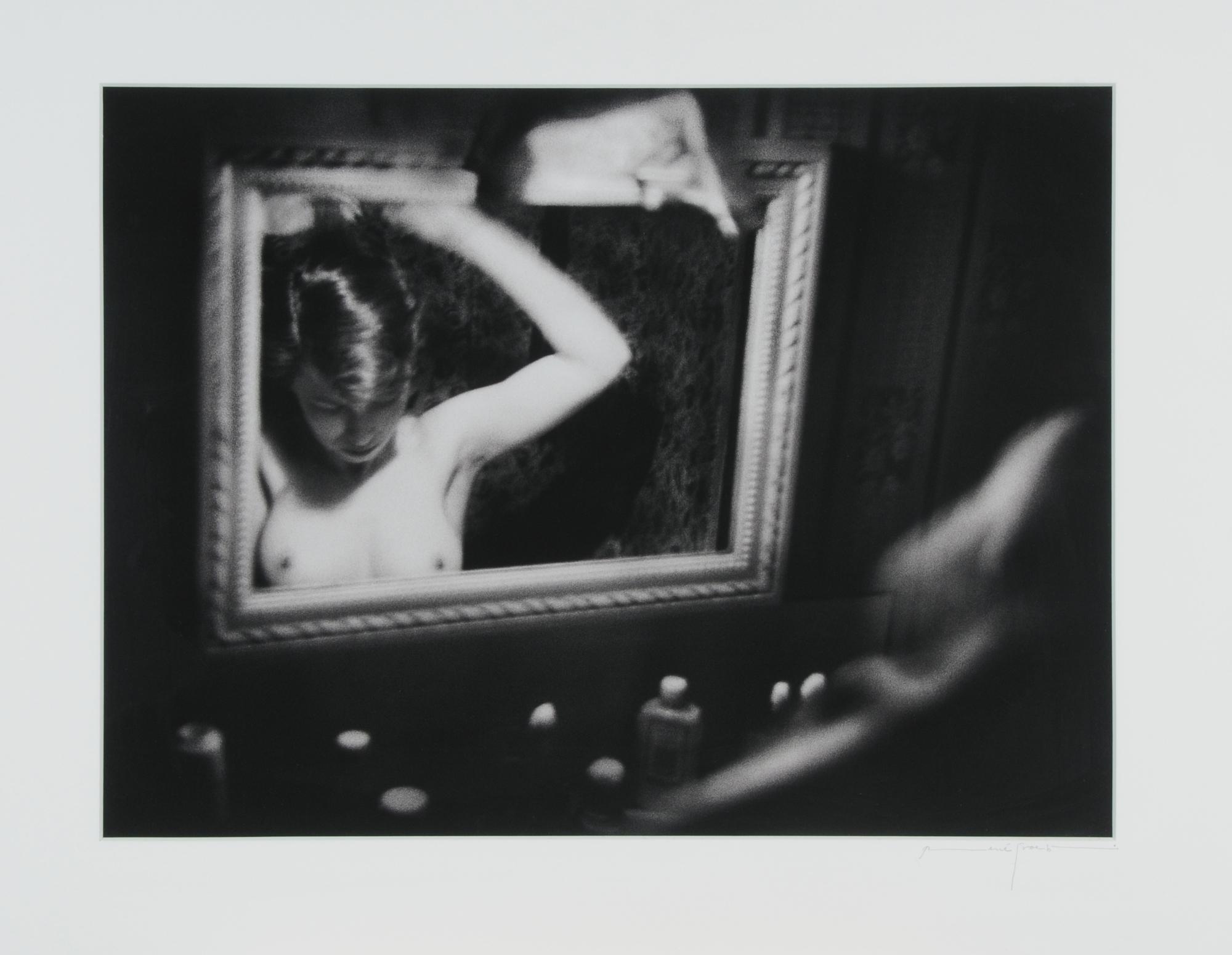 """Groebli René, Rita im Spiegel, aus der Serie """"Das Auge der Liebe"""""""