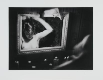 "Groebli René, Rita in the Mirror, from the series ""The Eye of Love"""