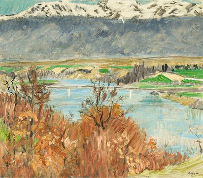 Berger Hans, Rhône et Jura