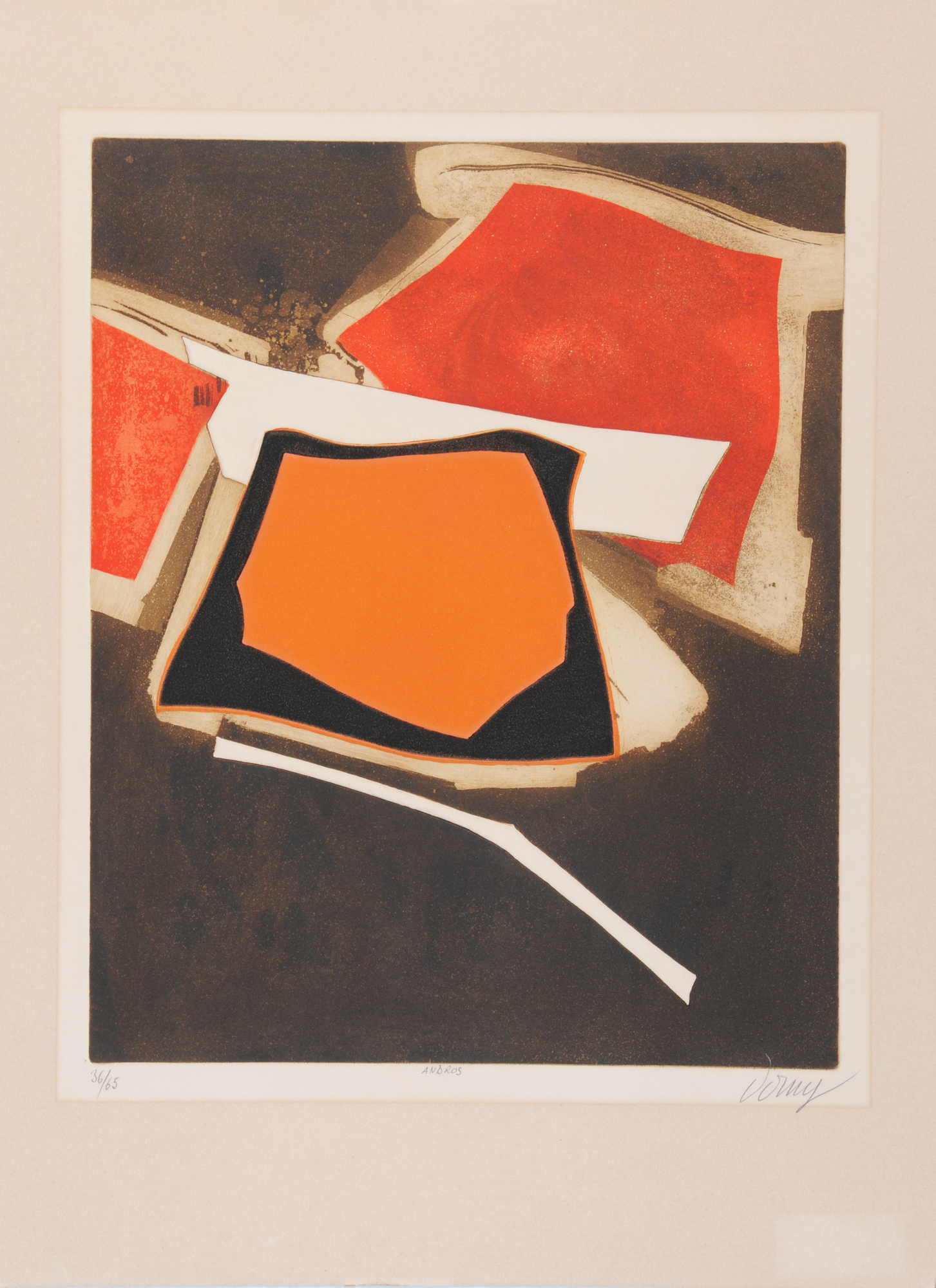 Grafik, 4 sheets: J. Friedländer; G. Singier; W. Dorny; G. Mathieu