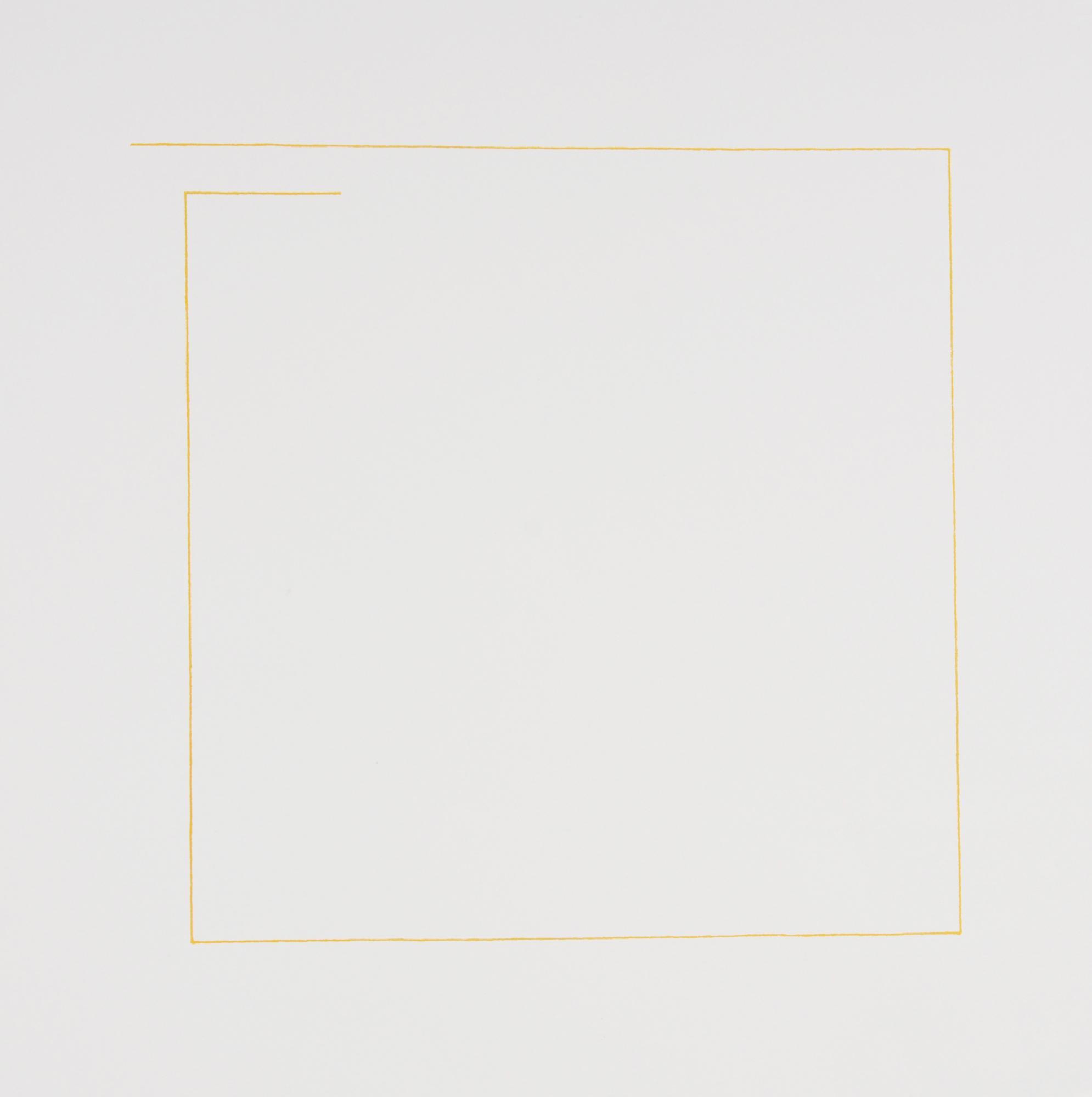 Mangold Robert, Yellow Line Print