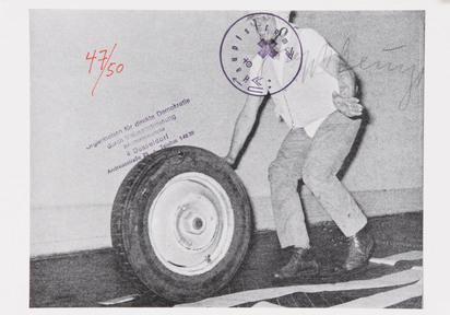 Beuys Joseph, 3 sheets: Freier Demokratischer Sozialismus, 1971; Hauptstrom, 1973; Blumenzucker