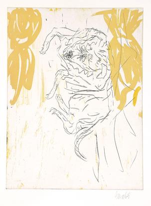 """Baselitz Georg, Leo, from """"Schlafende Hunde"""""""