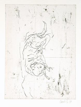 """Baselitz Georg, Astor, from """"Schlafende Hunde"""""""