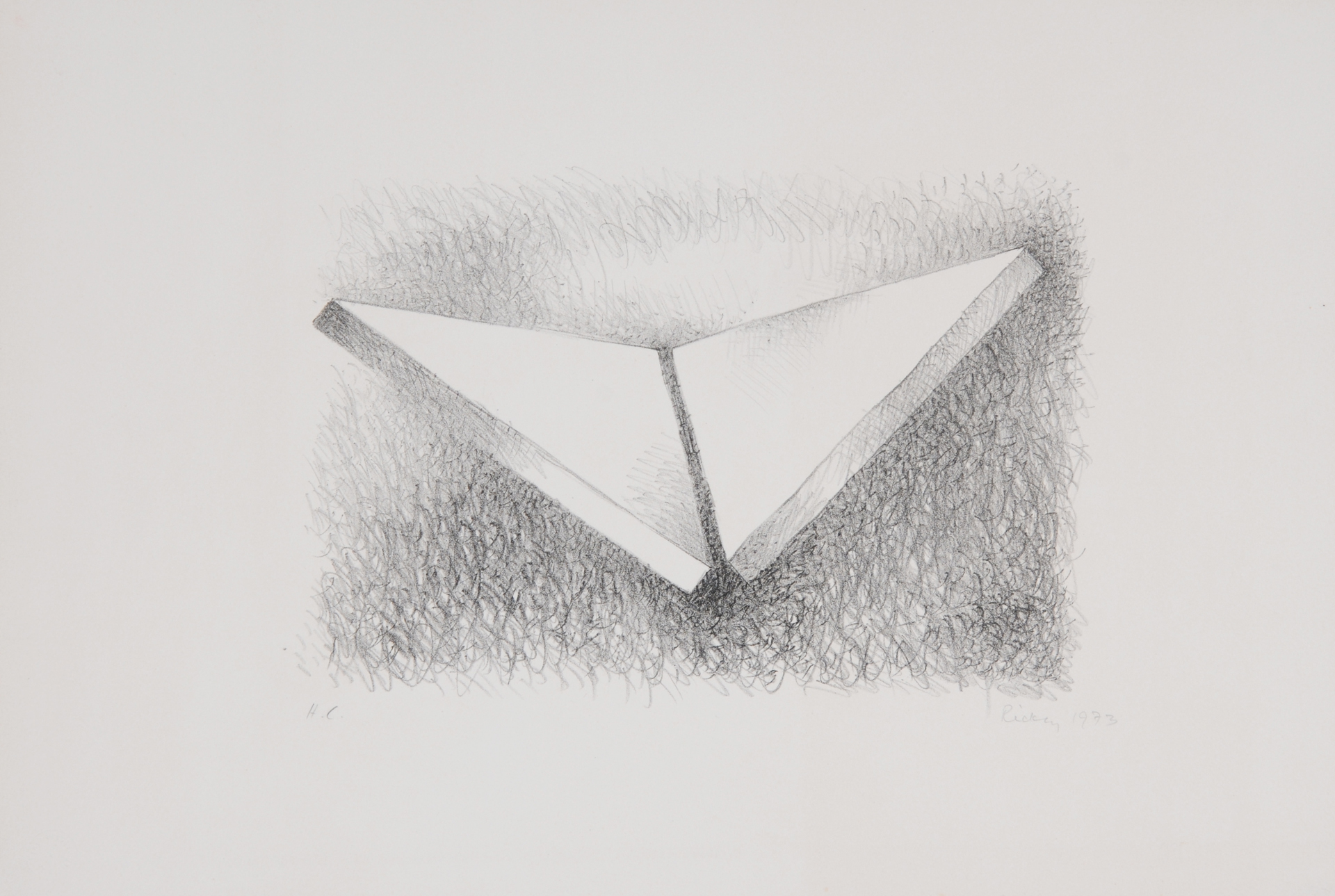 Rickey George, Two Triangles Dihedral