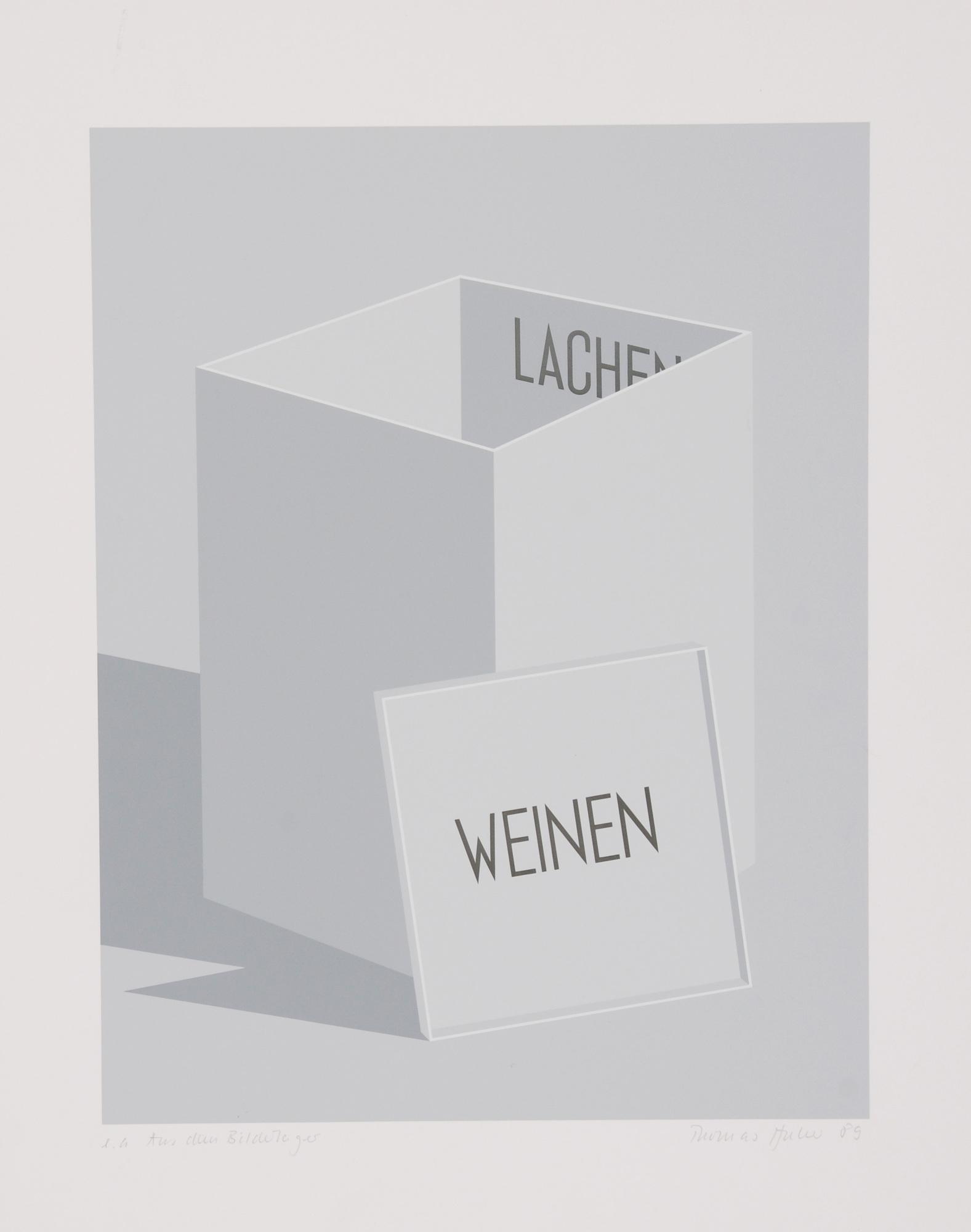 Grafik, 6 Blätter: W. Gimmi (2); P. Emch; K. Landolt; T. Huber; A. Pellegrini