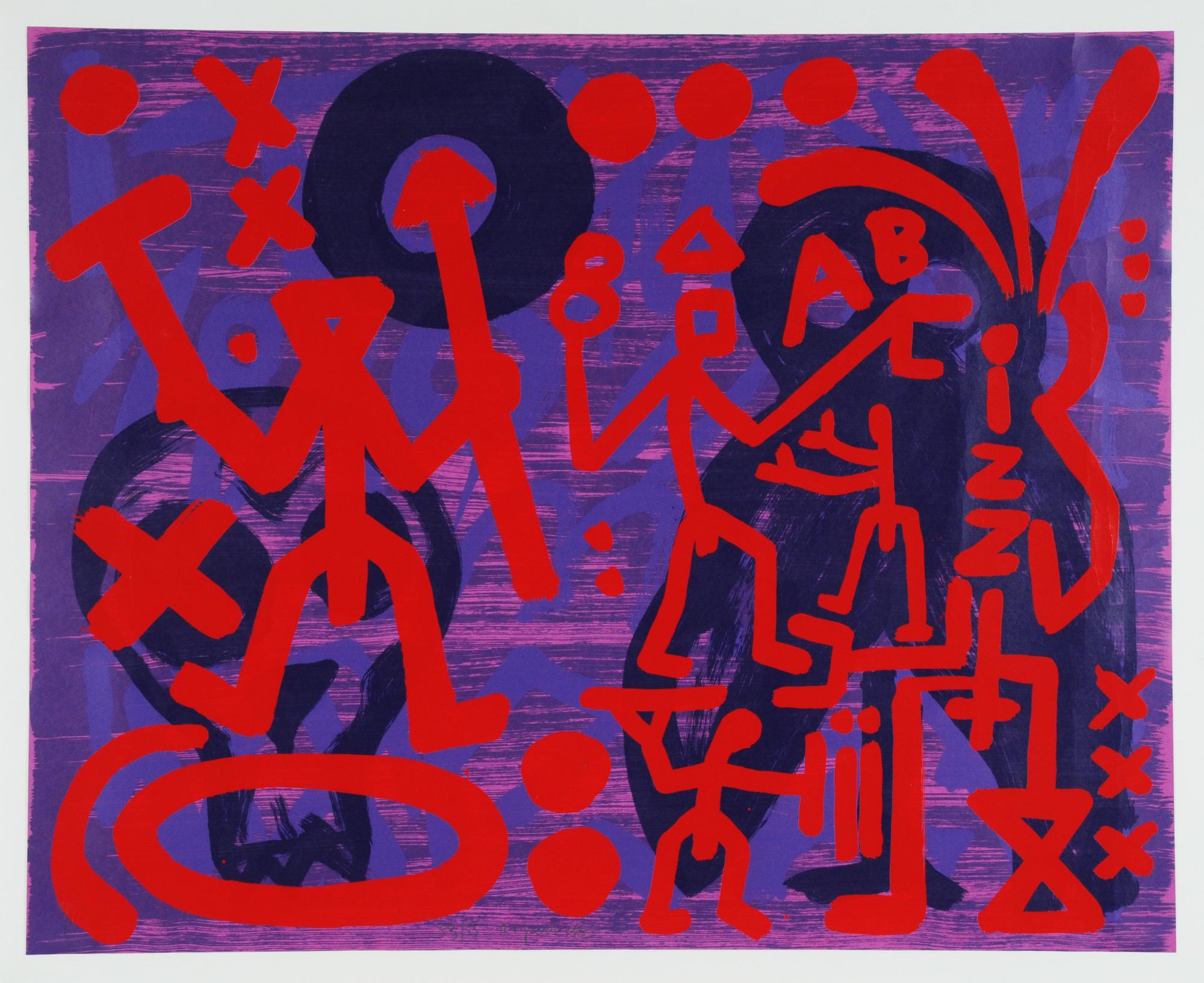 Penck A.R., Schatten
