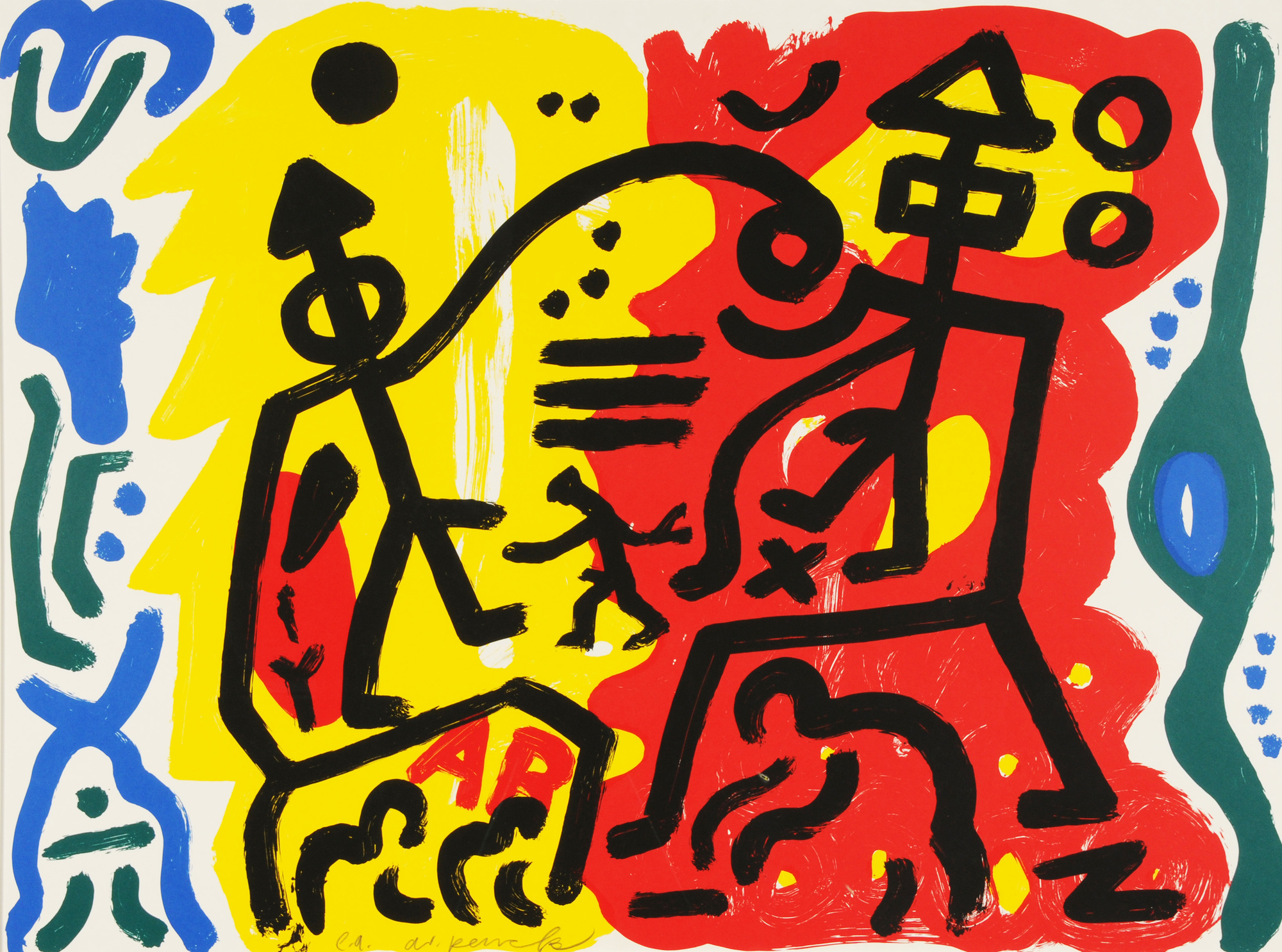 Penck A.R., Untitled