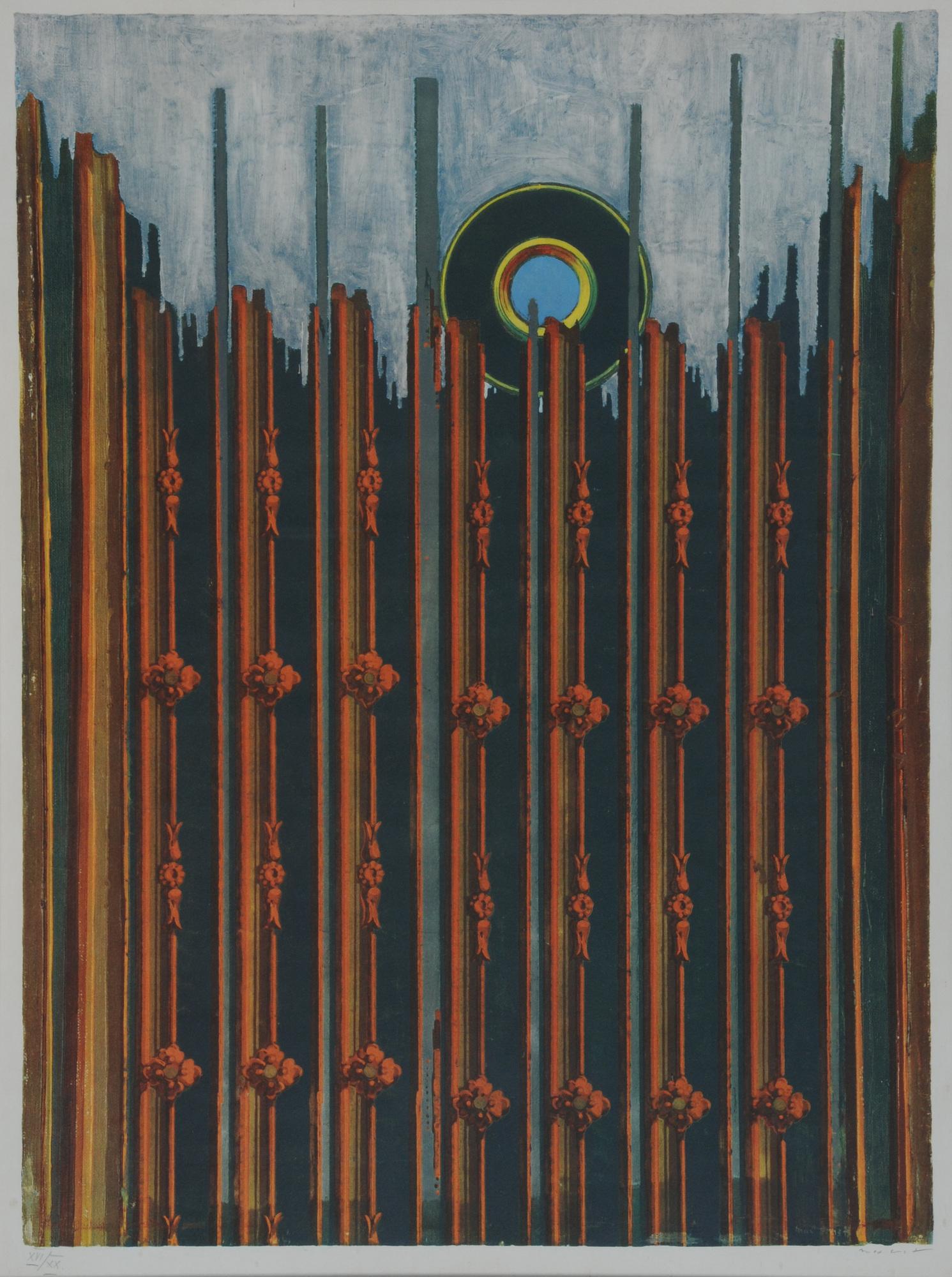 Ernst Max, after. Mur et soleil