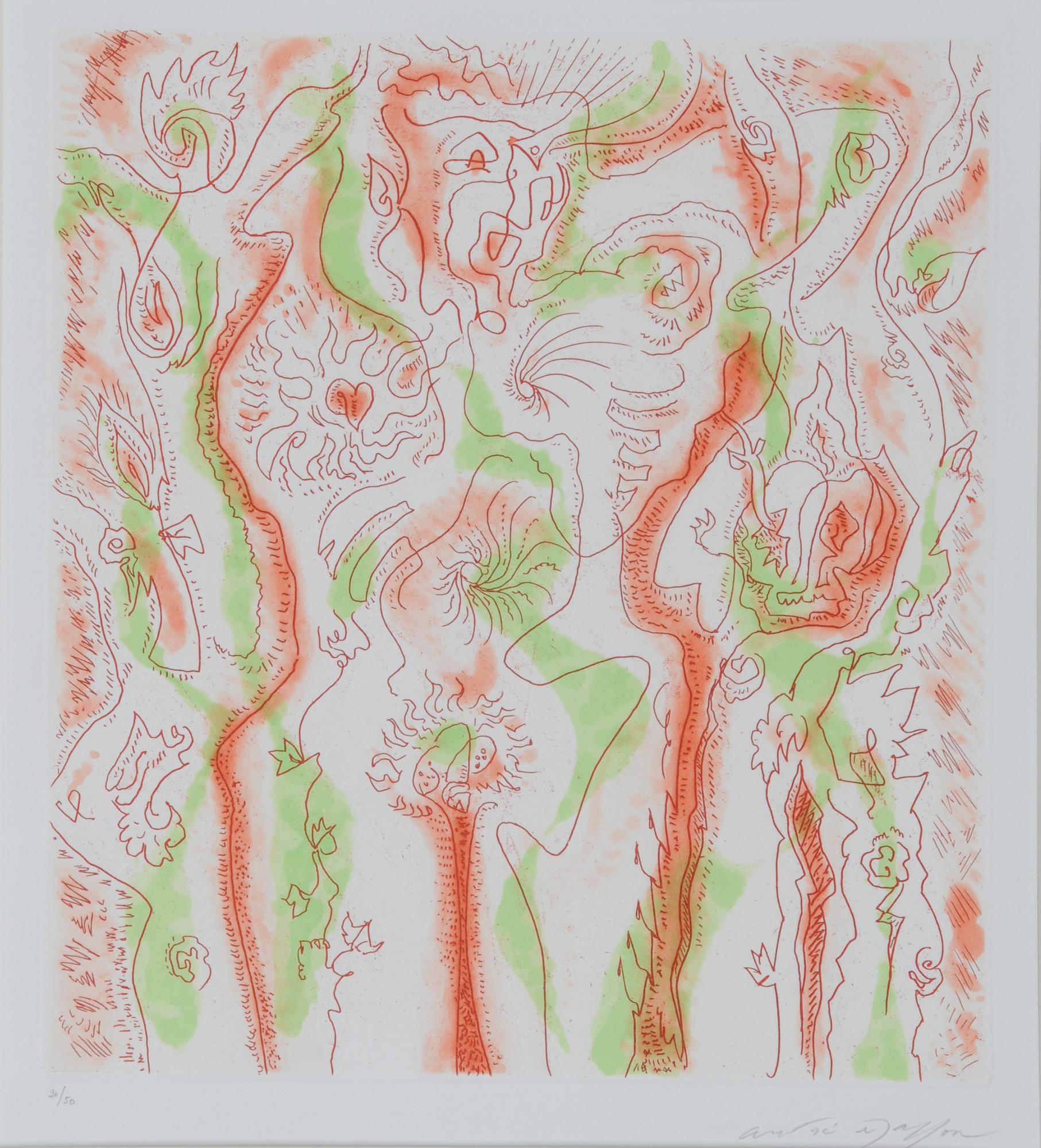 Masson André, L'homme et l'arbre