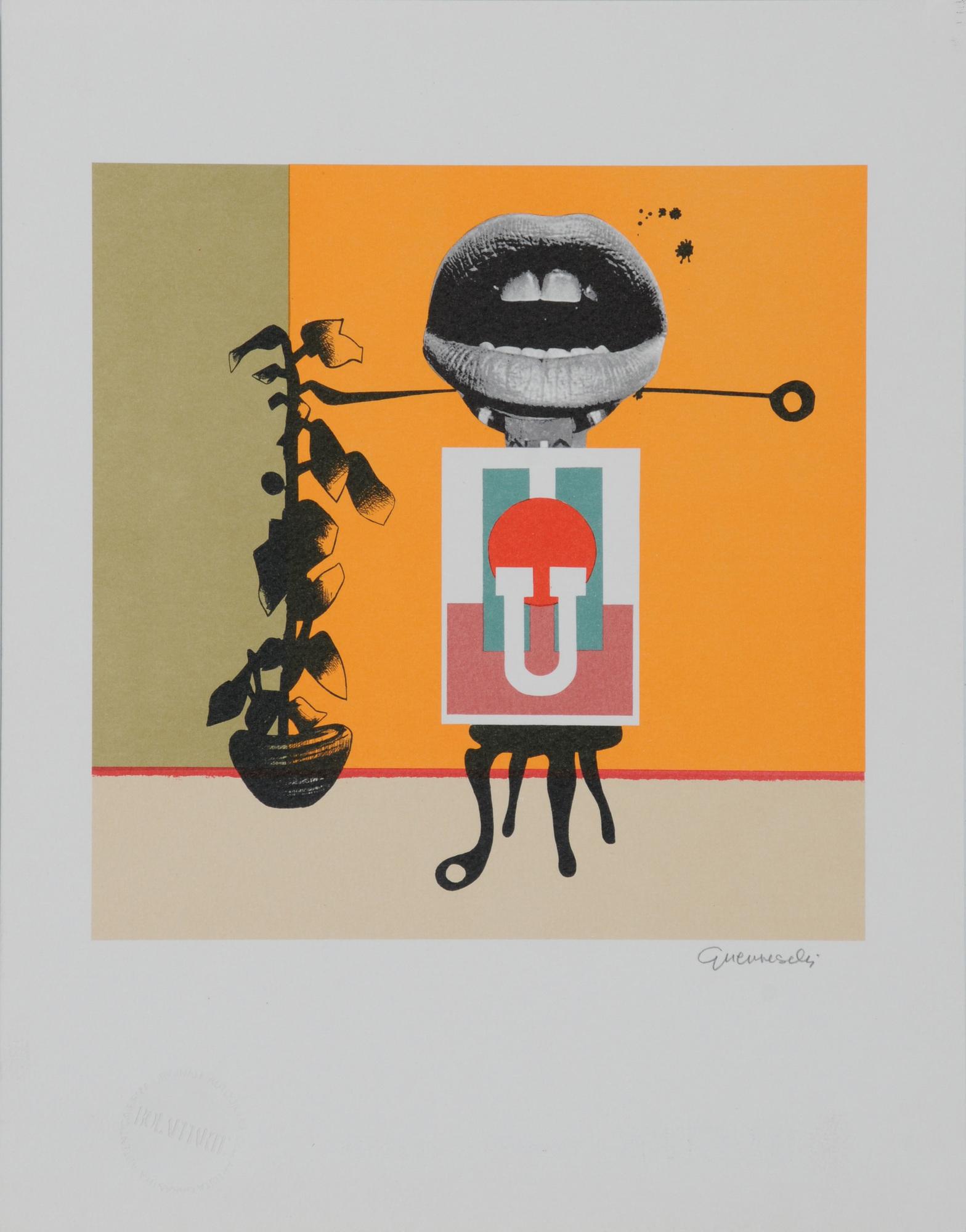 Grafik, 24 sheets: César (2); J. Beuys; M. Marini; W. Lam; R. Rauschenberg; E. Kienholz; M. Schifano; F. Plessi; G. Guerreschi; Christoforou etc.