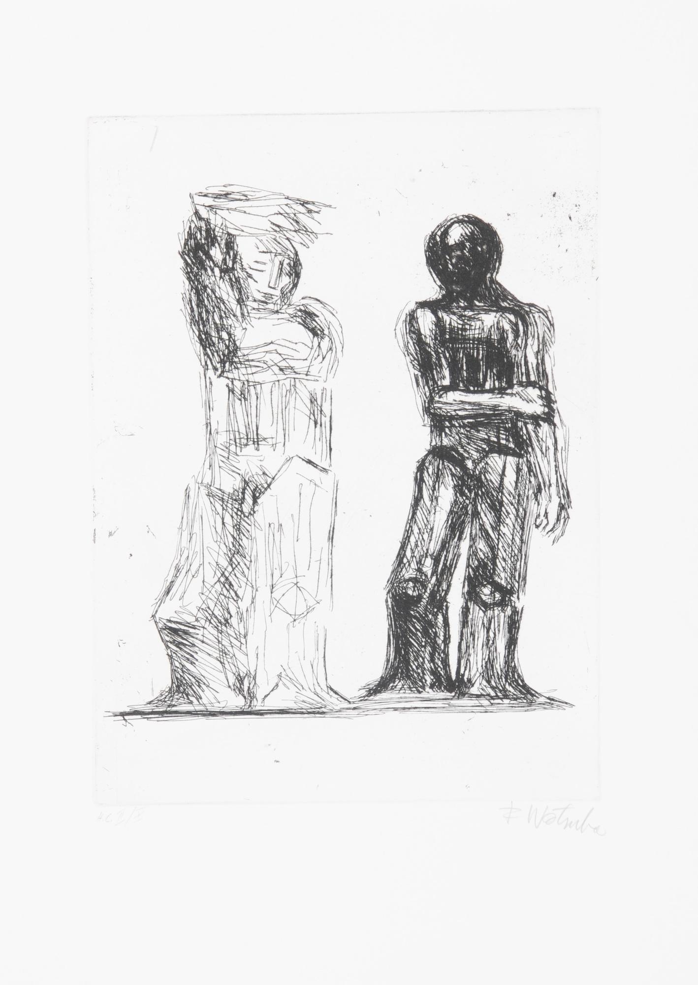 Wotruba Fritz, Portfolio. Eugène Ionesco.  Discours d'ouverture du Festival de Salzbourg