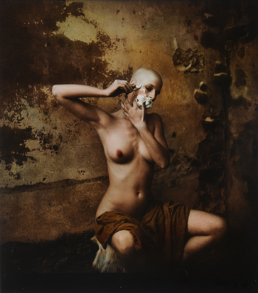 Saudek Jan, Gabriela Shaving Herself