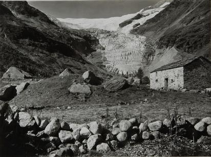 Steiner Albert, Palü Alp mit Palü Gleschter