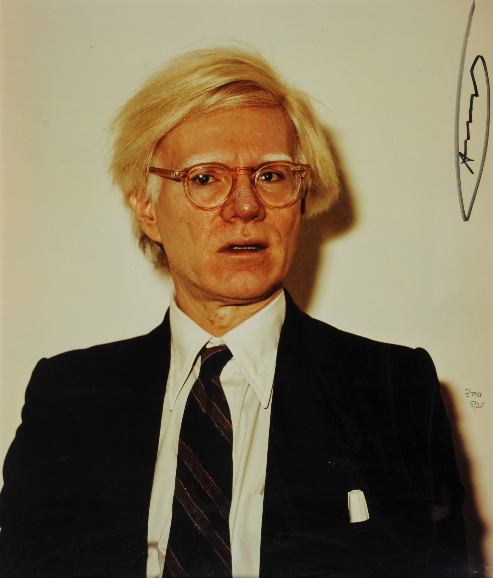 Zoa, 2 photographs: Andy Warhol