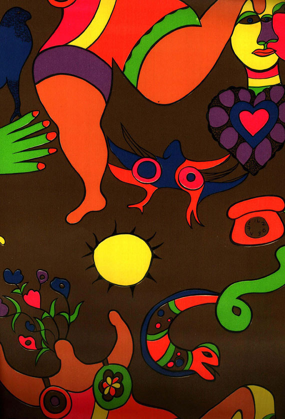 Saint Phalle Niki de, Tapete