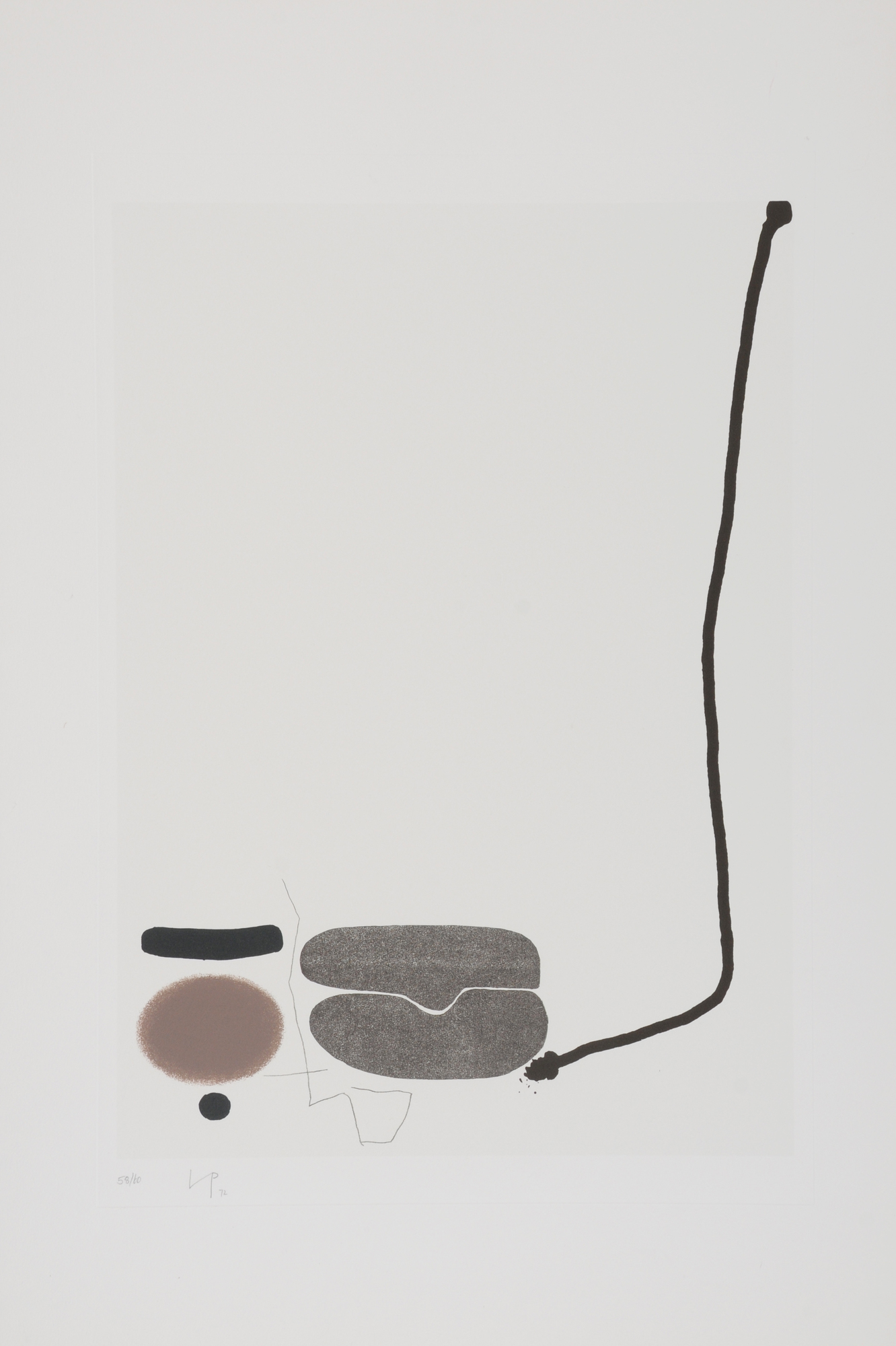 """Pasmore Victor, Blatt aus """"Points of Contact - Variations"""""""