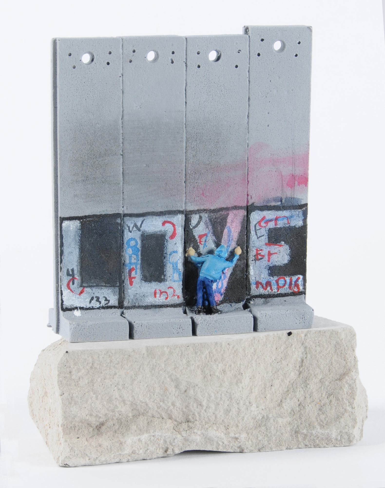 Banksy, 2 Multiples. Box Set - Walled Off Hotel; Wall Selection Larg