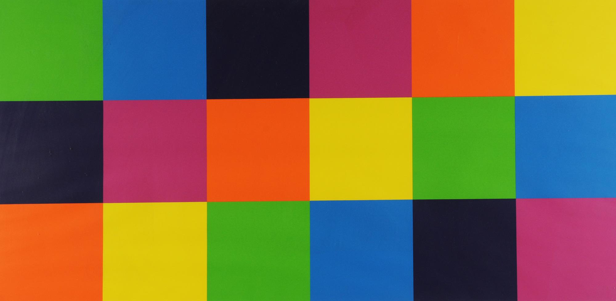 """Lohse Richard Paul, Sheet from """"3 x 3 Farbgleichungen"""""""