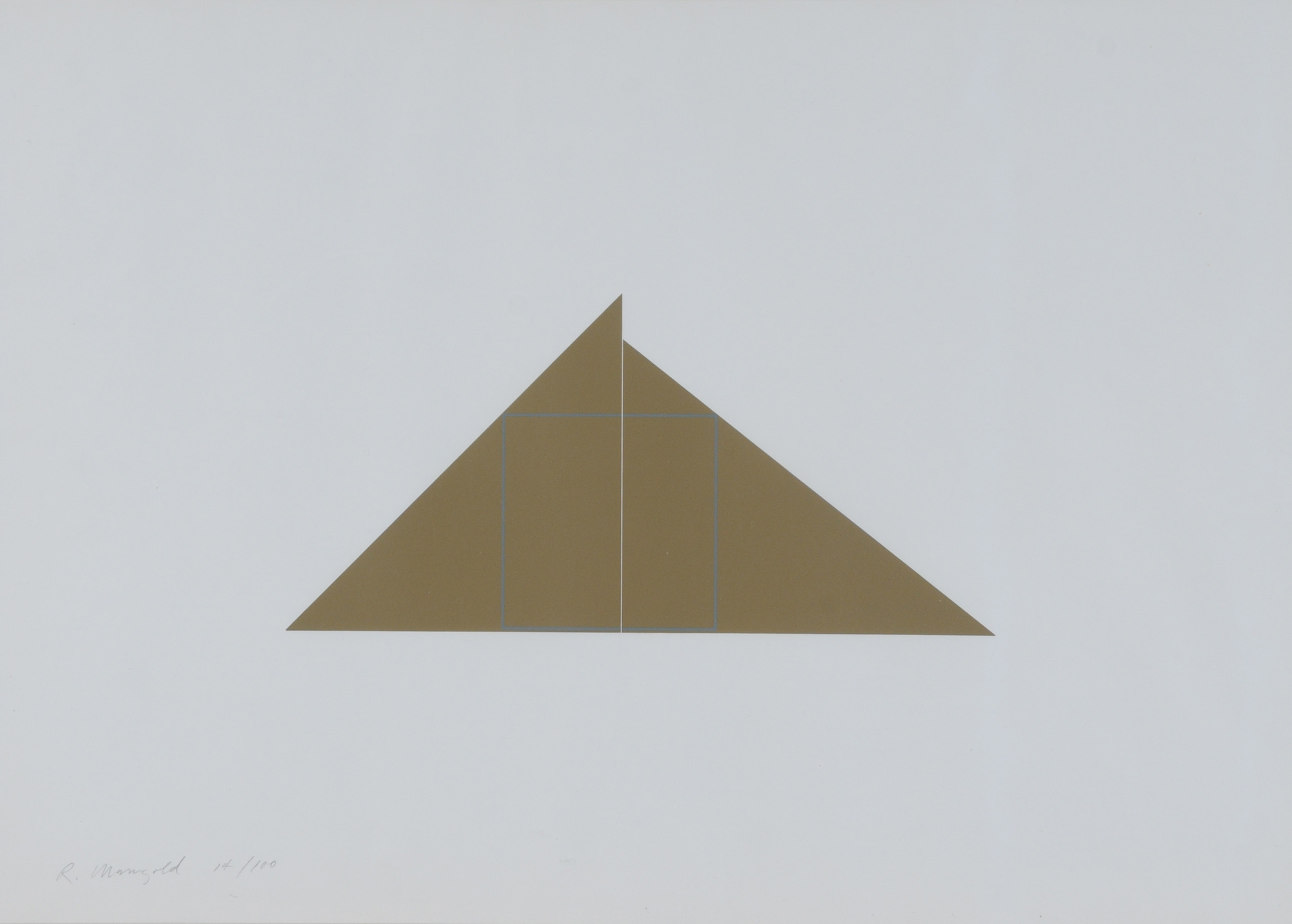 Mangold Robert, A Square within Two Triangles