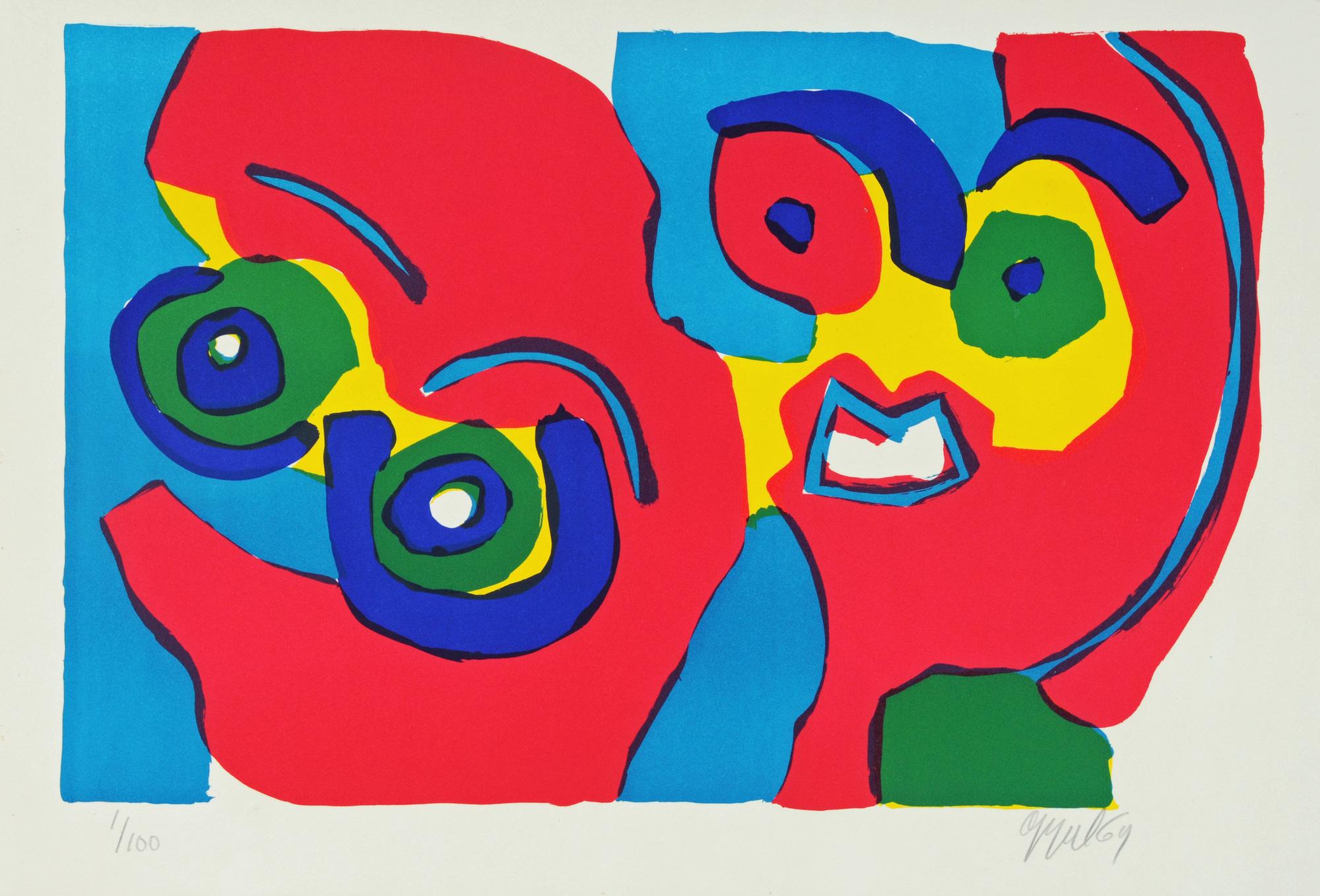 Appel Karel, Untitled (Couple)