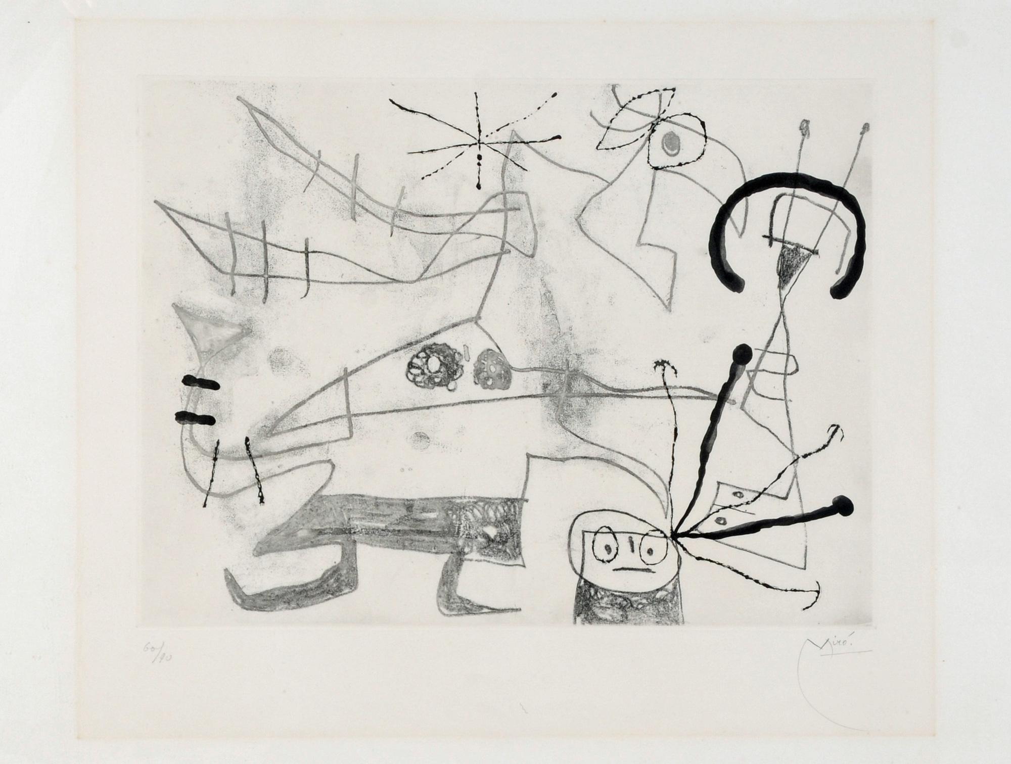 Miró Joan, Femme-Oiseau I