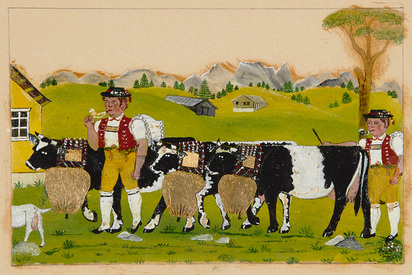 Aemisegger-Giezendanner Anna B., Cattle Drives to the Alps