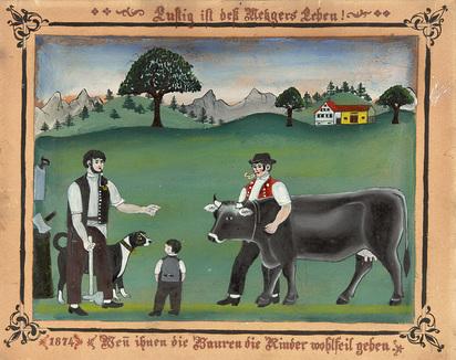 Haim Franz Anton, Lustig ist des Metzgers Leben! Wen ihnen die Bauren die Rinder wohlfeil geben
