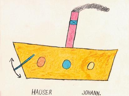 Hauser Johann, Schiff
