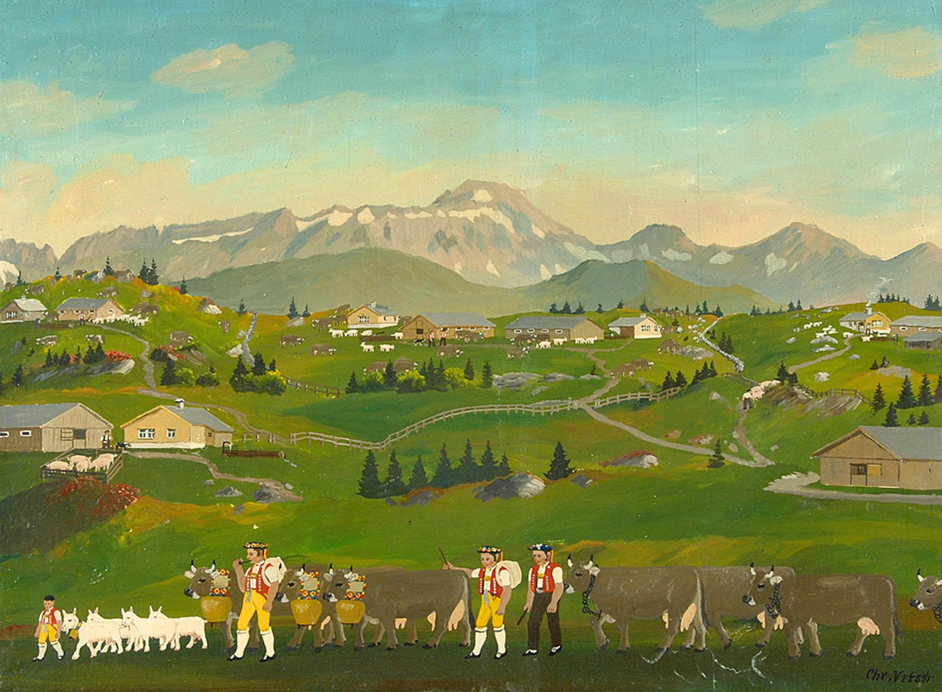 Vetsch Christian, Alpine Life
