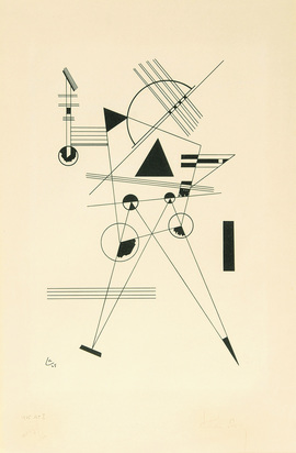 Kandinsky Wassily, Lithographie N° I