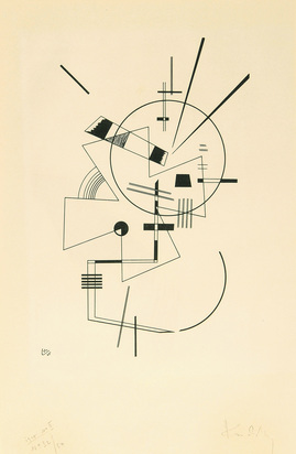 Kandinsky Wassily, Lithographie N° II