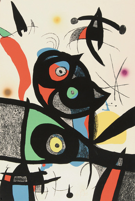 "Miró Joan, Sheet from ""Oda a Joan Miró"""