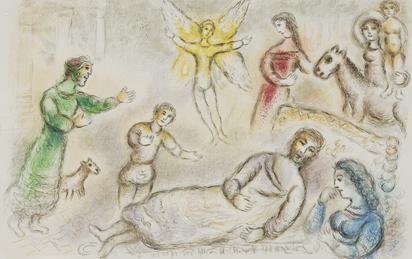 "Chagall Marc, La paix retrouvée, from ""L'Odyssée II"""
