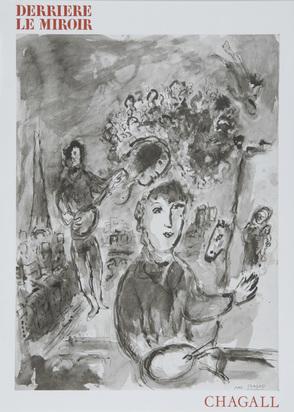 Derrière le Miroir, 2 Hefte: J. Miró, sculptures, Nr. 186, 1970; M. Chagall, Nr. 225