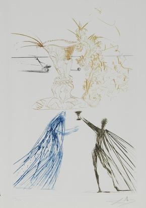 Dalí Salvador, Portfolio. Tristan et Iseult