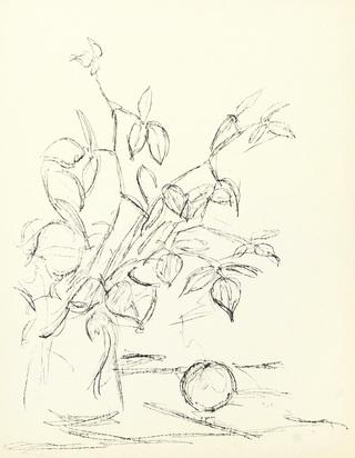 Giacometti Alberto, Buch. Pomme endormie