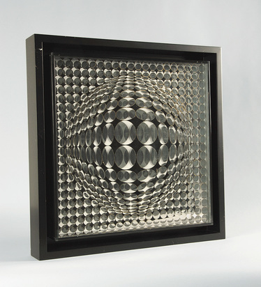"Vasarely Victor, Vega-Mir, from ""Bach Album"""