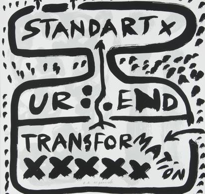 Penck A.R., Portfolio. Ur End Standart II