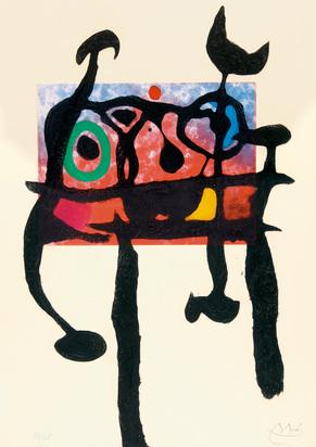 Miró Joan, Le Samouraï