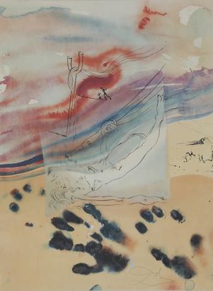 Dalí Salvador, Portfolio. Sigmund Freud, Moïse et le monothéisme