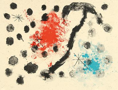"Miró Joan, Sheet 11, from ""Album 19"""