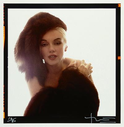 Stern Bert, Marilyn in Fur - The Lost Sitting