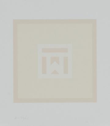 Calderara Antonio, Portfolio. Epigramme, drei Farb-Variationen von Antonio Calderara