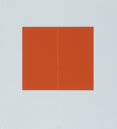Calderara Antonio, Folder. Rot 1963 - Grün 1963