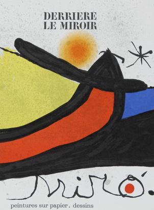 Derrière le Miroir, 2 Hefte: J. Miró. Peintures sur papier - dessins, Nr. 193/194, 1971; J. Miró, Nr. 231