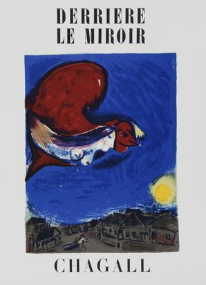 Derrière le Miroir, 3 booklets: M. Chagall, No. 27-28, 1950; M. Chagall, No. 246, 1981; J. Miró, No. 203