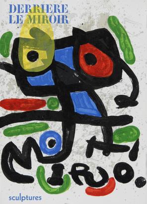 Derrière le Miroir, 3 booklets: J. Miró, No. 29-30, 1950; J. Miró, sculptures, No. 186, 1970; M. Chagall, No. 225