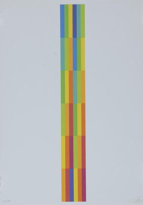 Lohse Richard Paul, Portfolio. Vier vertikale serielle Strukturen