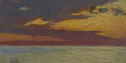Burzi Ettore, Venezia, vista mare